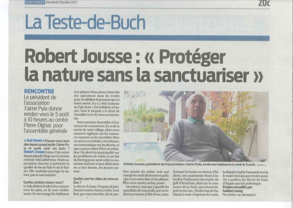 ARTICLE 28 07 17 SUD OUEST